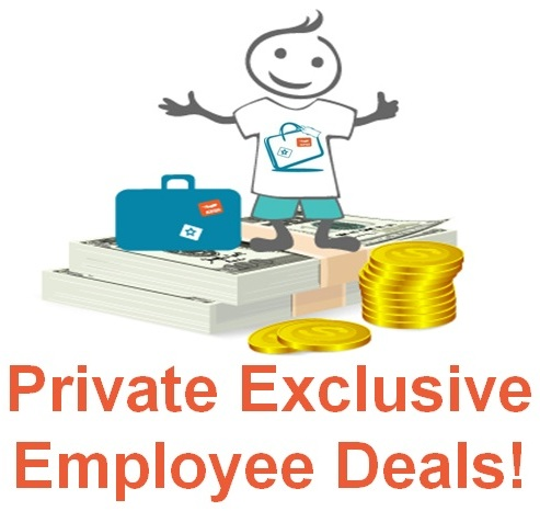 Private exclusive employee deals!