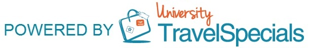footer logo powered by University Travel Specials